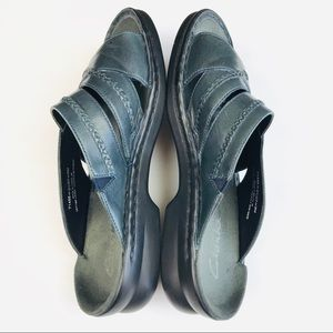 Clarks Shoes - Clarks Leather Slip Ons